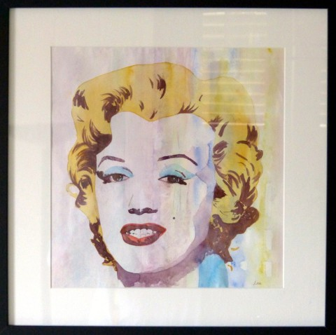 Marilyn-aquarelle